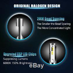 10x9003 H4 LED Headlight Bulbs Kit High&Low Beam 60W 12000LM 6000K Wholesale