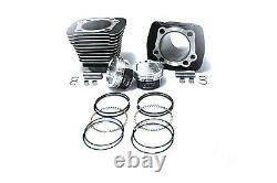 1200cc Cylinder and Piston Conversion Kit Black fits Harley-Davidson