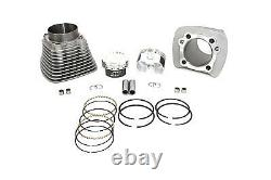 1200cc Cylinder and Piston Conversion Kit Silver fits Harley-Davidson