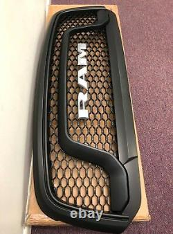 13-18 Ram 1500 REBEL Style Conversion Grille Kit Matte Black Fits All Ram 1500
