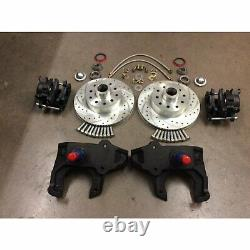 1955-57 Chevy Bel Air 2 Drop Spindle Disc Brake Conversion Kit Fits OE GM Tri-5