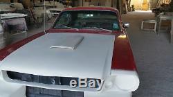 1964-1966 Fits Ford Mustang Fastback Fiberglass Body Conversion Kit