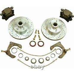 1974-78 Ford Mustang II GM 11 Front Disc Brake Conversion Kit Fits OE Spindles