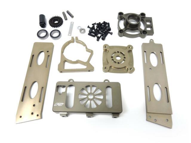 1/5 Rovan Cnc Aluminum F5 Race Car Brushless Motor Conversion Kit Fits Mcd Xs5