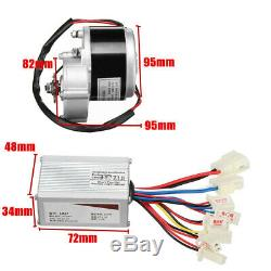 24V 250W Electric Bike Conversion Kit Motor Controller Fit 22-28 Common Bicycle