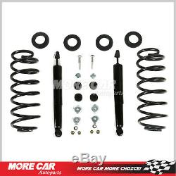 2X Rear Struts Springs Conversion Kit fit 92-02 Ford Crown Victoria Town Car