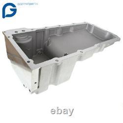 302-1 Polished LS Swap Retrofit Oil Pan Conversion Kit For GM LS1 LS6 LS2 LS3