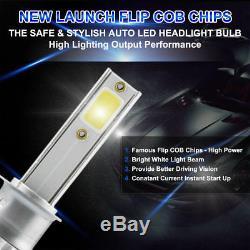 4pcs LED Headlight Kit 9005+9006 Bulb Fit Nissan 300ZX 1996-1995 Hi/Lo Beam