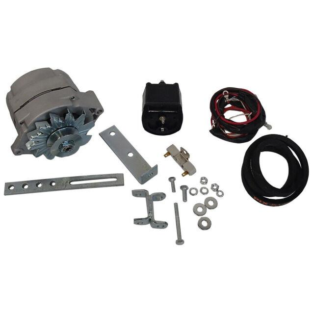 8ne10300alt 12v Alternator Conversion Kit With Coil Fits Ford 2n 8n 9n Tractors