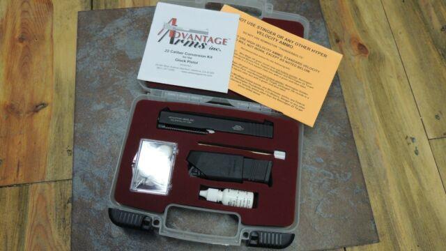 Advantage Arms Gen 2-3 Fits Glock 26-27-28-33 Conversion Kit 22lr W Cleaning Kit