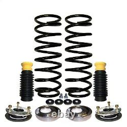 Air Spring to Coil Spring Conversion Kit Front fits 03-12 Land Rover Range Rover