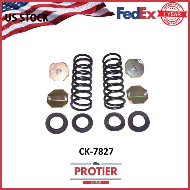 Air Spring To Coil Spring Conversion Kit Front Fits 95-02 Land Rover Range Rover