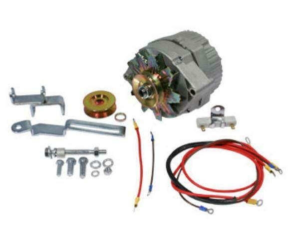 Alternator Conversion Kit Fits Massey Ferguson Mf Tractor To20 6 To 12 Volt