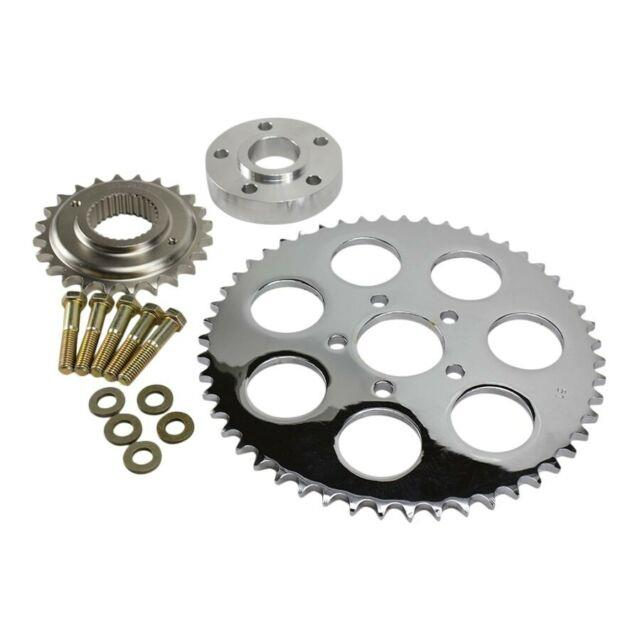 Belt To Chain Conversion Kit Fits 2006-17 Dyna And 2007-17 Softail