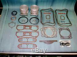 Big Bore 1200 Conversion Kit- Fits 1986-90 XL Sporty 883/1100 Outperforms stock
