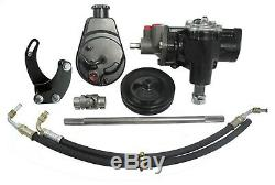 Borgeson 999014 Power Steering Conversion Kit Fits Biscayne Brookwood Impala