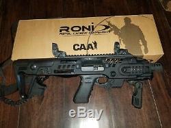 CAA RONI G2 9 /40 CONVERSION KIT Black FITS GLOCK 17,19,19x, 22,23,31,32,45