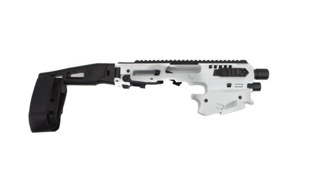 Caa Roni Mck Micro Conversion Kit White Glock Fits 17,19,19x, 22,23,31,32,45