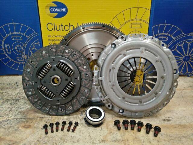 Clutch Conversion Kit Fit Solid Flywheel Set Vw Golf Estate 1.6 Tdi 90hp Diesel