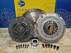 Clutch Solid Conversion Kit Fit Audi A4 00-04 1.9 Tdi 115hp 116hp 130hp Awx