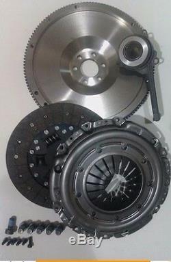 Complete Flywheel, Clutch, Csc, Bolts Fits Audi A3 2.0tdi 16v Quattro Sportback