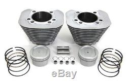 Cylinder and Piston Conversion Kit fits Harley Davidson, V-Twin 11-0377