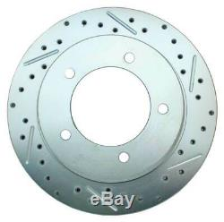 Deluxe Disc Brake Conversion Kit 41-71 Jeep 5 Lug Rotors/Calipers 25/27 Knuckle