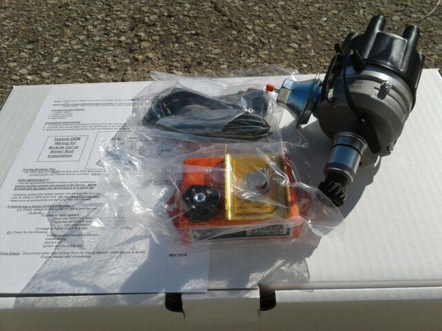 Dodge Mopar Slant 6 Electronic Distributor Kit Fits 170 198 225 Slant Six