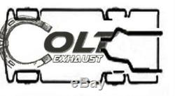 Dual Exhaust Pipes kit Fits 2009 2016 GMC CHEVROLET PICK UP TRUCKS