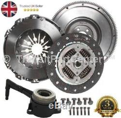 Dual Mass To Single Solid Flywheel Clutch Csc Fits Vw Jetta 2.0 Tdi 2005-2010