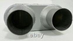 Dual Pipe Conversion Exhaust Kit fits Chevy C / K 1500 / 2500