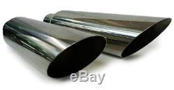 Dual conversion performance exhaust kit fits dodge ram 1994 2001 1500 2500