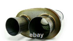 Dual pipes conversion exhaust kit fits 1993 2001 Ford f-150 trucks 2.5 pipes
