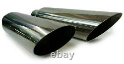 Dual pipes conversion exhaust kit fits 87 93 Dodge Ram pick up truck