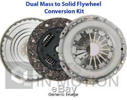 Dual to Solid Flywheel Clutch Conversion Kit fits BMW 320D E46 2.0D 03 to 05 Set