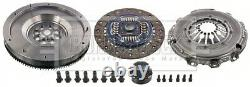 Dual to Solid Flywheel Clutch Conversion Kit fits BMW 320 E46 2.0D 03 to 07 Set