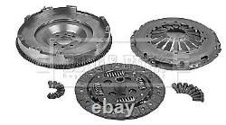 Dual to Solid Flywheel Clutch Conversion Kit fits VAUXHALL TIGRA X04 1.3D Z13DT