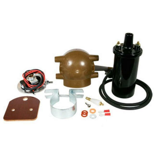 Electronic Ignition & Coil Conversion Kit Fits Ford 2n 8n 9n Tractor 6 Volt