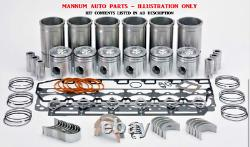 Engine Rebuild Kit Fits Nissan Td42 Conversion To Td42t/ti Factory Spec Motor