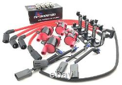 FITS RX8 RX-8 D585 HI Output GM Ignition Coil Conversion Kit with NGK Spark Plugs