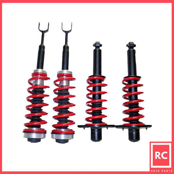 F & R Air Spring To Coil Spring Conversion Kit Fit 01-05 Audi Allroad Quattro