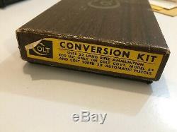 Factory Colt 22.22 LR 1911 1911A1 Conversion Kit Fits Government Model. 45 ACP