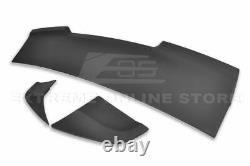 Fit 05-09 S-197 Ford Mustang R Style ABS Primer Black Rear Trunk Wing Spoiler