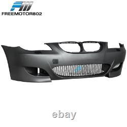 Fit 08-10 BMW E60 5-Series M5 Style Front Bumper Conversion Air Duct PP