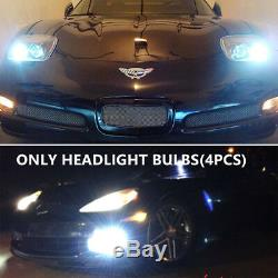 Fit 1997-2004 Chevy Corvette C5 Projector Headlights Head Lamps LED Left & Right