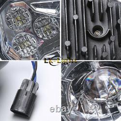 Fit 2011-14 Polaris RZR 800 Newest 2X LED Conversion Headlights Kit 900 XP Style