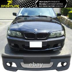 Fit 99-05 BMW E46 3 Series Sedan M-Tech Msport Front Bumper Conversion PP