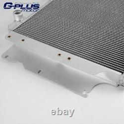 Fit For 87-04 Jeep Wrangler YJ GM Chevy V8 Conversion Aluminum Radiator
