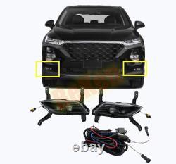 Fit For Hyundai Santa Fe 2019-2020 LED Fog Light Harness Kit