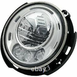 Fit Jeep Wrangler 2007-2017 Jk Headlights Head Lights Lamps Conversion Set